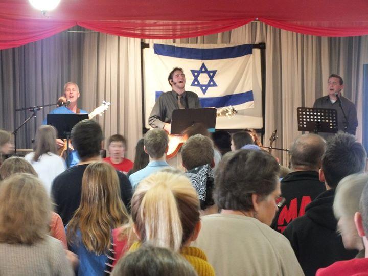 Hanukkah Night to Bless Israel