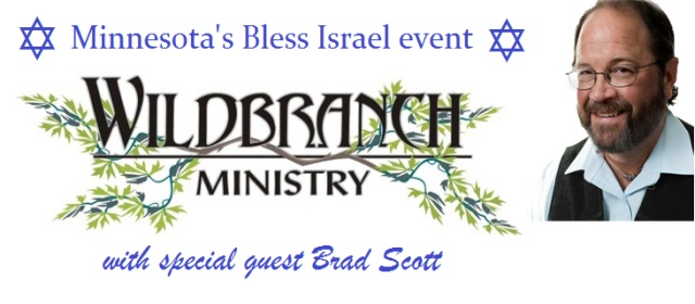 Bless Israel event with Brad Scott