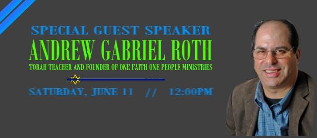 Guest Speaker: Andrew Gabriel Roth